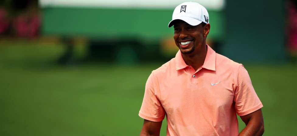 Tiger Woods smile anchor