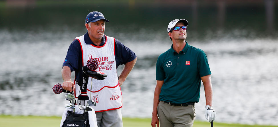 Adam Scott, Steve Williams Part Ways After 3 Years