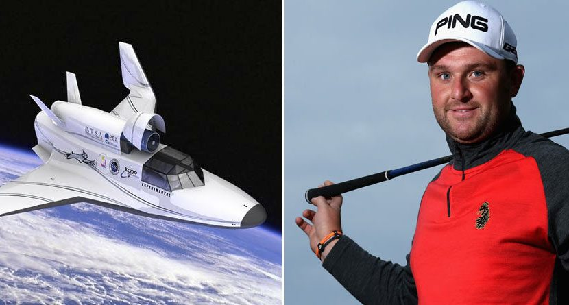 Space Ace: Andy Sullivan Wins Prize That's Out of This World