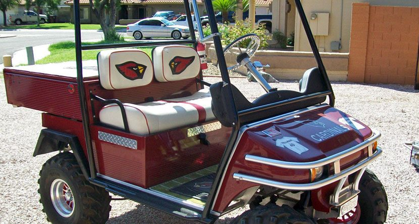 Grilling Golf Cart Is The Ultimate Tailgate Machine