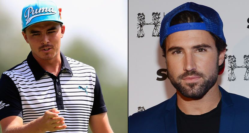 Bromance Brewing? Rickie Fowler Hooks Brody Jenner Up With Gear