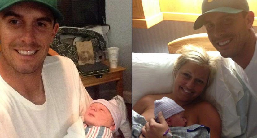 Greatest Month Ever: Horschels Welcome Baby Skylar