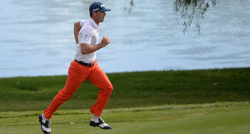 Nature Calls: Billy Horschel Blows Up Twitter With 18th Hole Potty Break