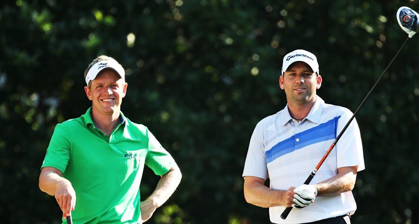 Sergio Garcia Disappointed Luke Donald Not on Ryder Cup Team