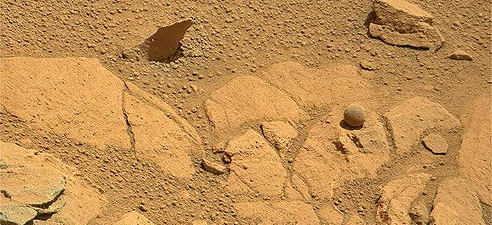Golf Ball Was Possibly, Maybe Found On Mars