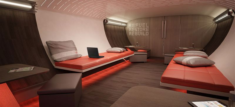 Nike Designs Incredible Airplane Interior, Only Lacks Putting Green