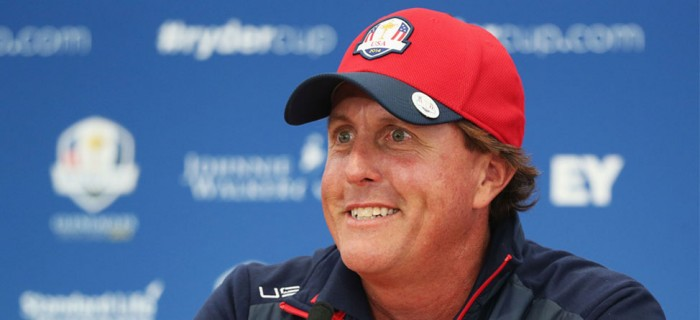 Phil's on Fire: Confirms Keegan Pairing, Takes Shot At Team Europe
