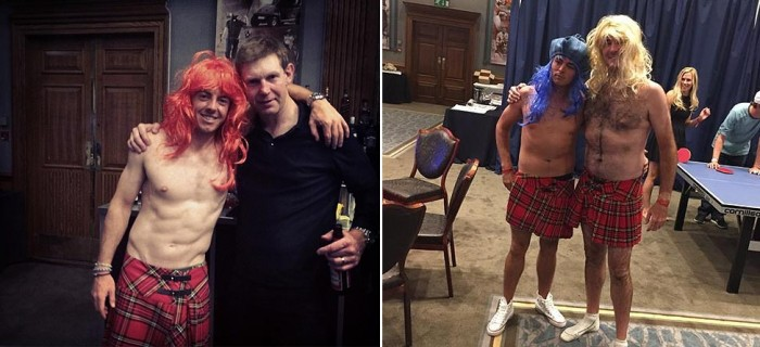 Wigs, Kilts & Cops: Things Got Weird After The Ryder Cup