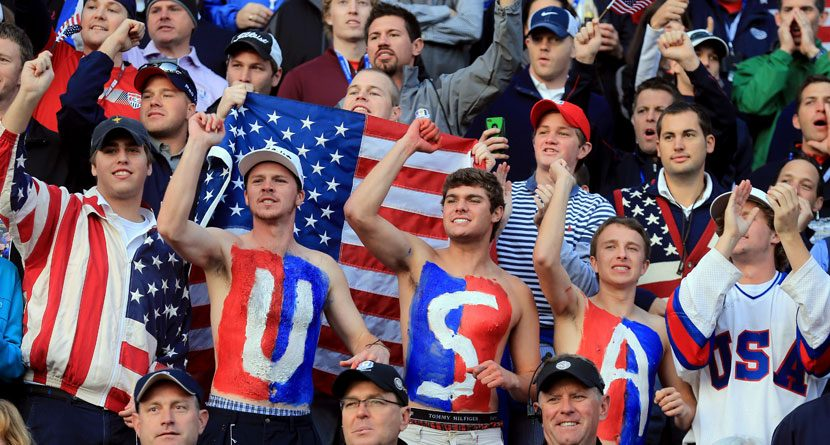 Fans Now Encouraged To Use Social Media At Ryder Cup
