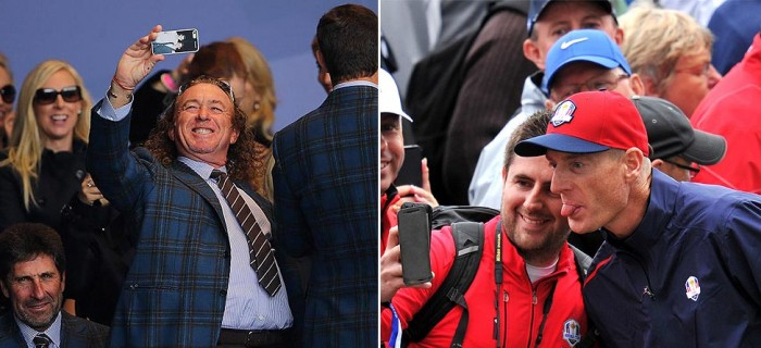 Let Me Take A Selfie: Ryder Cup Stars Join In On Craze