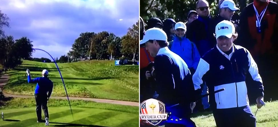 Butt Slaps & Man Hugs: Ryder Cup on Social Media