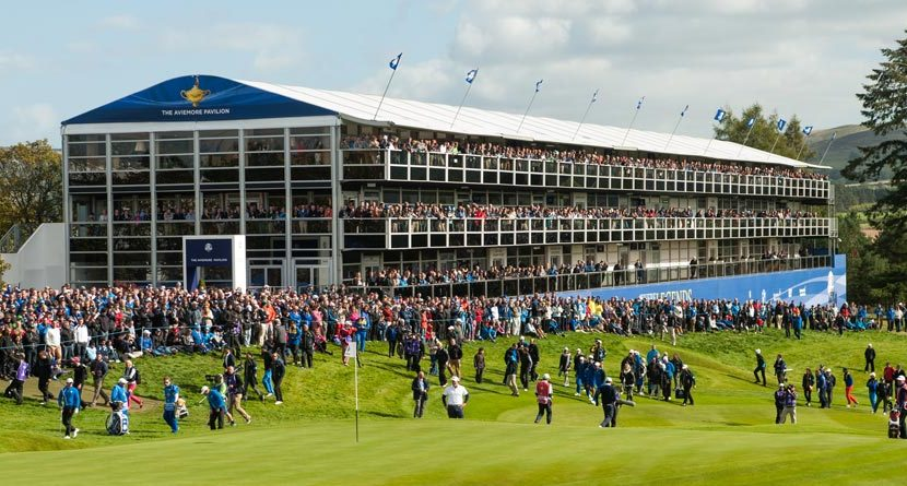 Spectators Paying The Price For Attending Ryder Cup