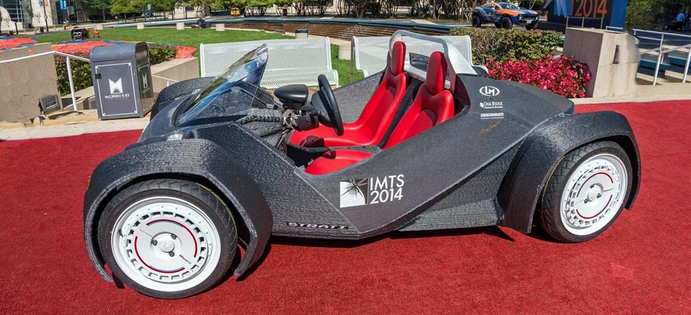 Strati: The World's First 3D-Printed Car