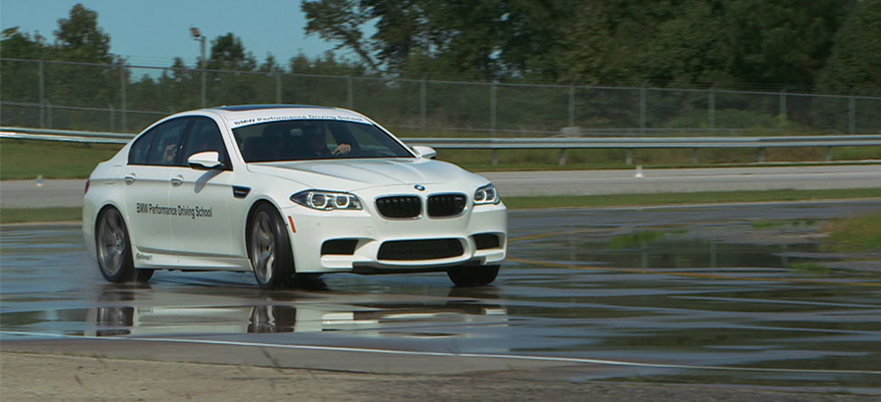 Back9Network Tears Up The BMW Racetrack