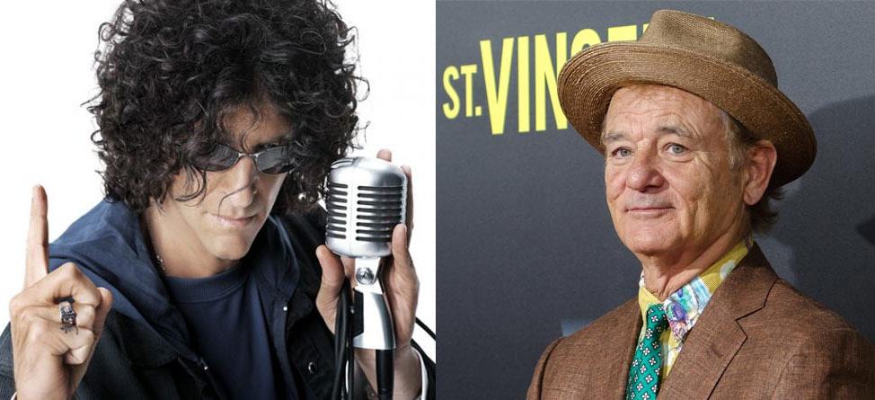 Bill Murray Visits Howard Stern, Talks Caddying & New Golf Project