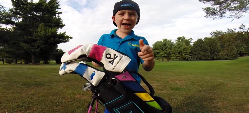 Thank Golf It's Friday: 7-Year-Old Rapper Returns