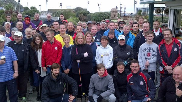 Crazy Golf group