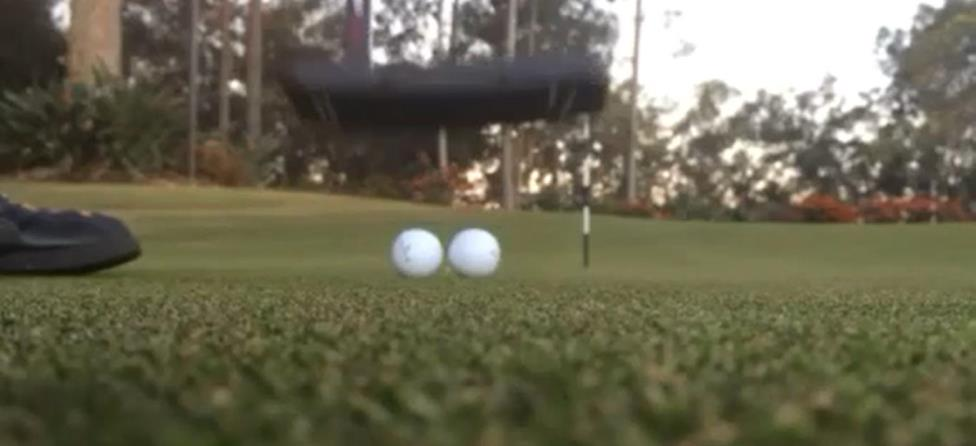 This Double Putt Is Another Short Putt Made Hard