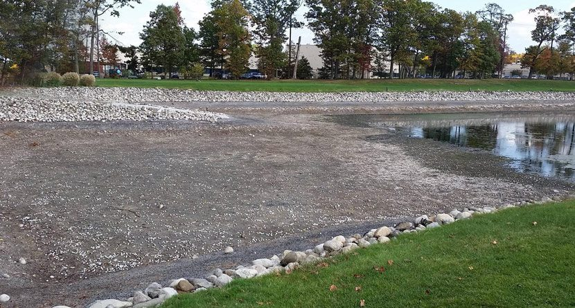 Eureka! Drained Pond Reveals Mother Lode Of Golf Balls