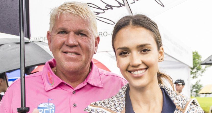Jessica Alba Had A 'Rad' Time Golfing With John Daly & Yao Ming