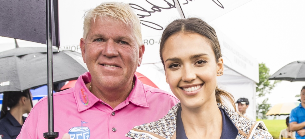 Jessica Alba Had A 'Rad' Time Golfing With John Daly & Yao Ming