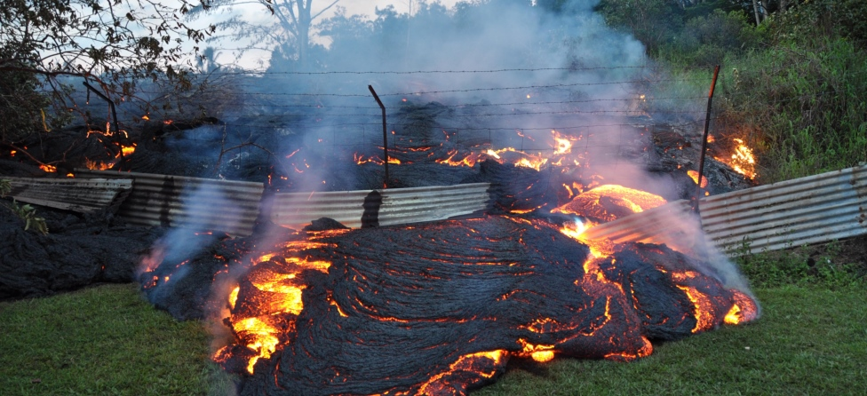 Hawaiians Dip Golf Clubs In Lava, Get Arrested