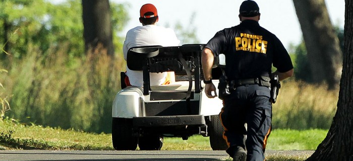 Man Arrested For Drunk Driving Massive Golf Cart On Freeway