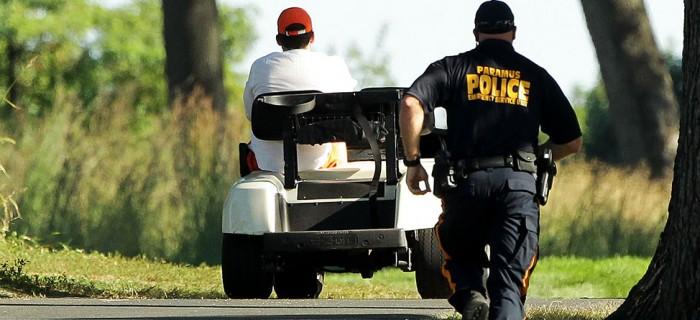 Speed Golf: Parolee Tries To Evade Police In Stolen Golf Cart