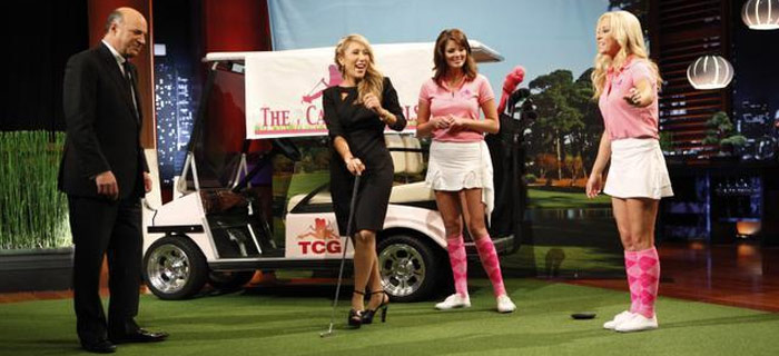 Caddy Girls Go Fishing But Cut Bait On 'Shark Tank'