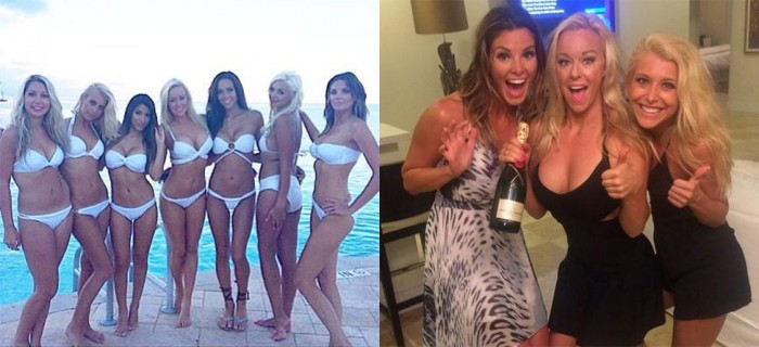 The Caddy Girls Go Fishing In The 'Shark Tank'
