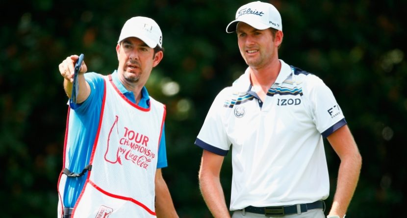 Introducing The 'Caddie Dance' By Webb Simpson