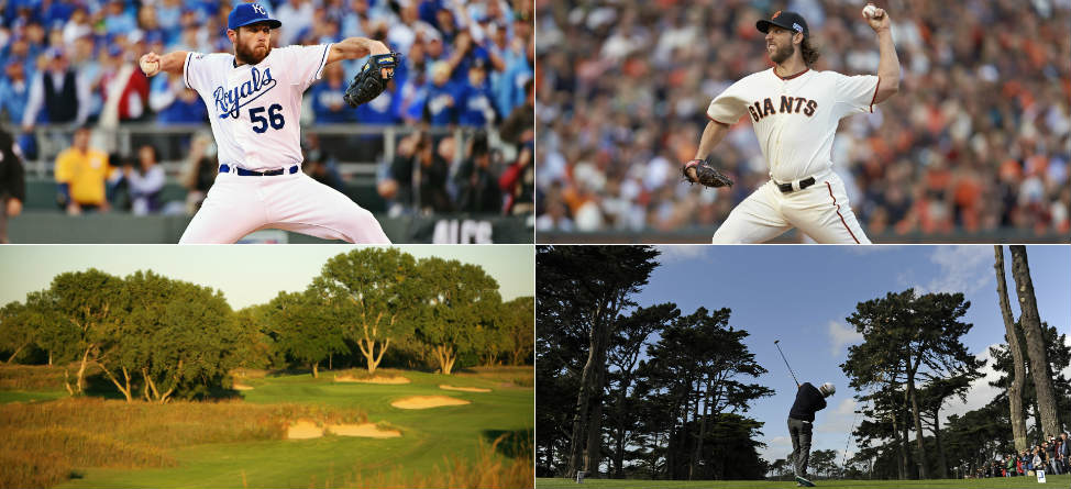 Kansas City vs. San Francisco: The World Series of Golf Courses