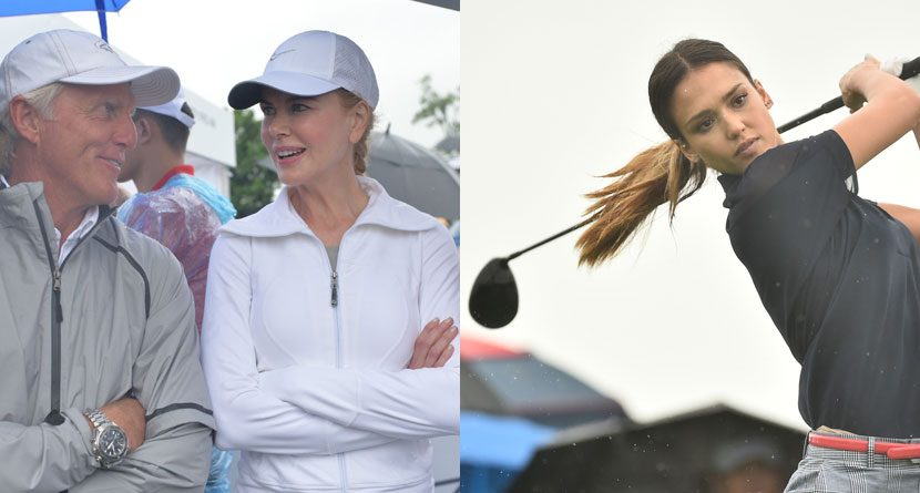 Golfers, Stars Collide At Mission Hills World Celebrity Pro-Am