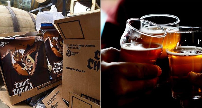 Colorado Brewery Concocts 'Cerealiously Count Chocula' Beer… Seriously