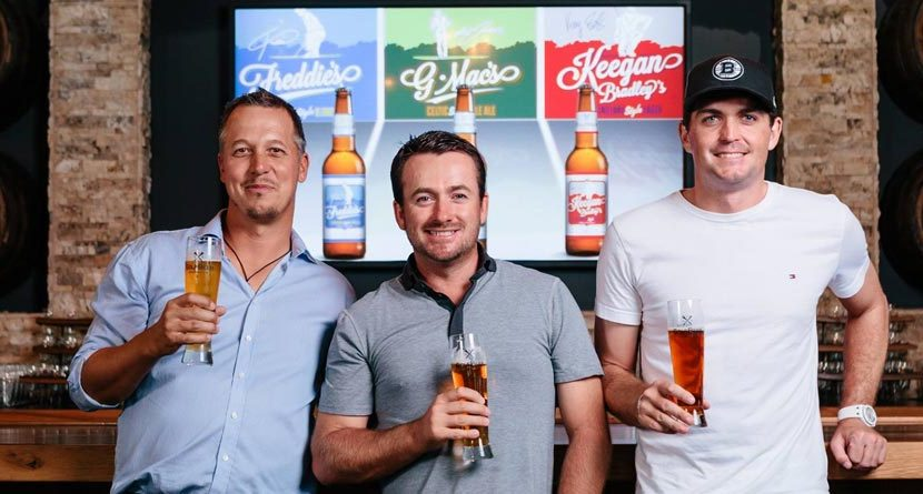 Pro Golfers Team Up For New Craft Beer Line