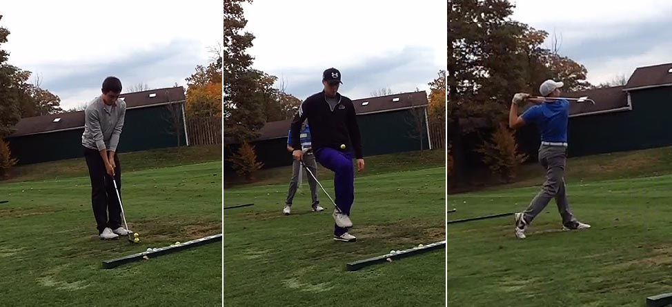 Three-Man Juggling Trick Shot Is The Best Thing You'll See Today