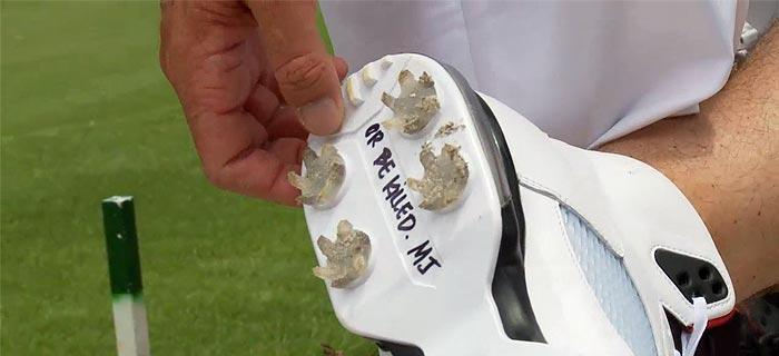 Sole Mates: Keegan Bradley's Shoes Contain Secret Messages From Jordan