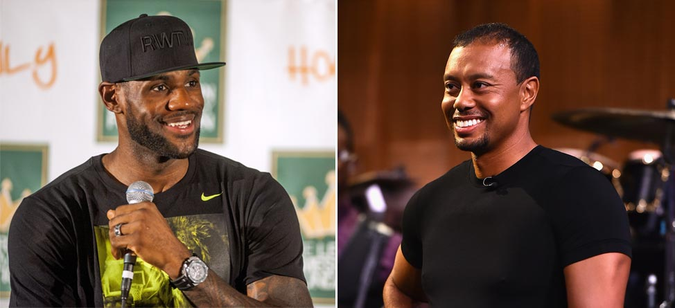 LeBron James Tops Tiger Woods On New Forbes List