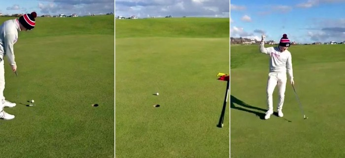 This Is The Longest, Greatest 3-Foot Birdie Putt Ever