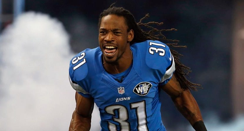 Detroit Lions CB Wants Son To Play Golf, Not Football