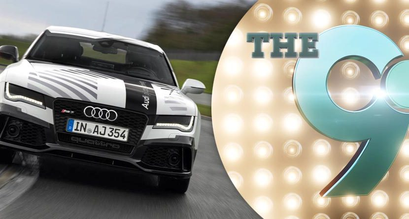The 9: New Self-Driving Audi, Bubba's Finger Tattoo & More