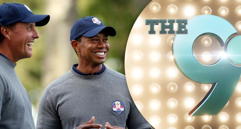 The 9: Tiger And Phil Lead Ryder Cup Task Force & More