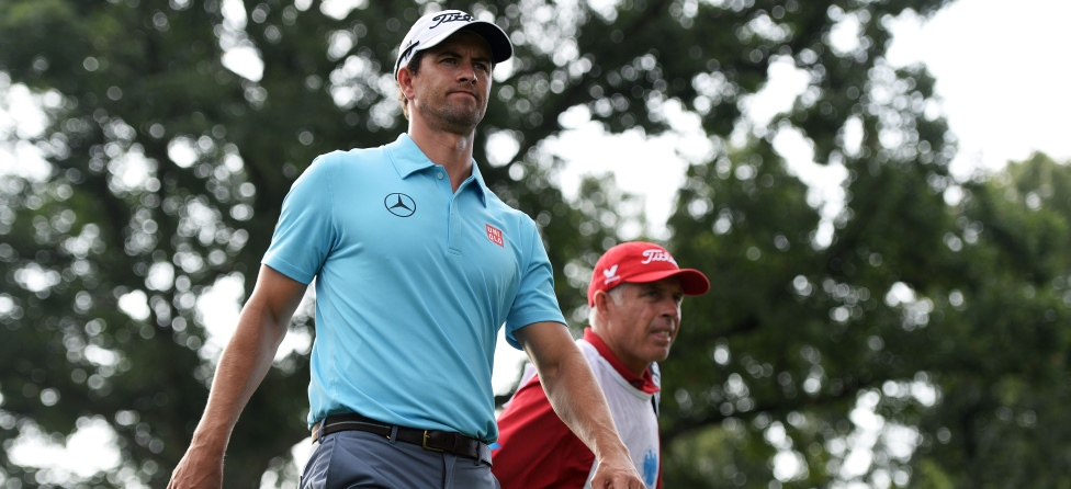This Wounded Veteran REALLY Wants To Be Adam Scott's Caddie