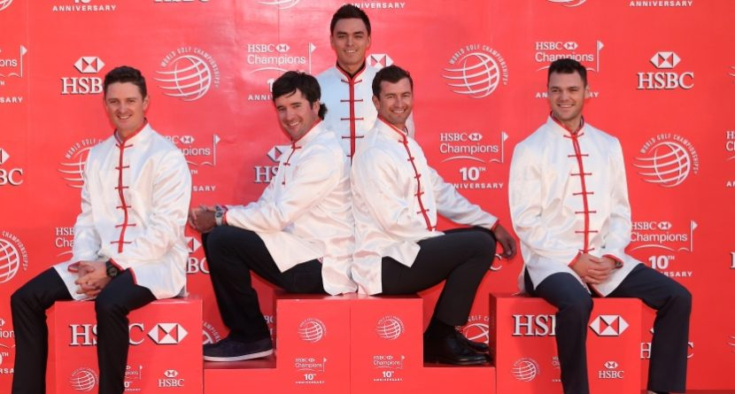More Fun With Photos From The HSBC Champions