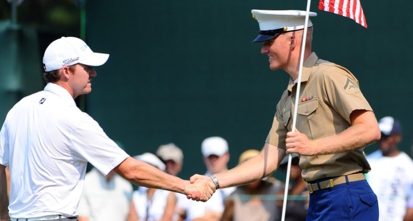 Pro Golfers Honor Service Members On Veterans Day