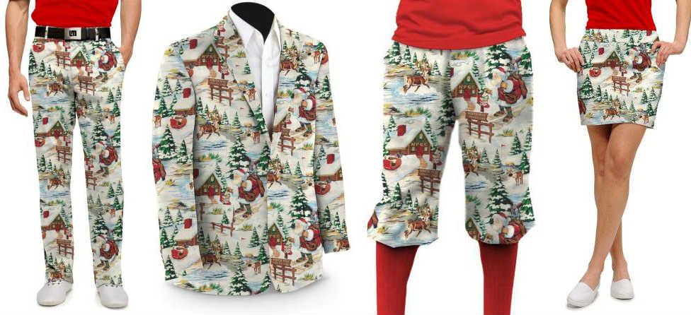 In Time For Holidays, Loudmouth Releases Santa Pants