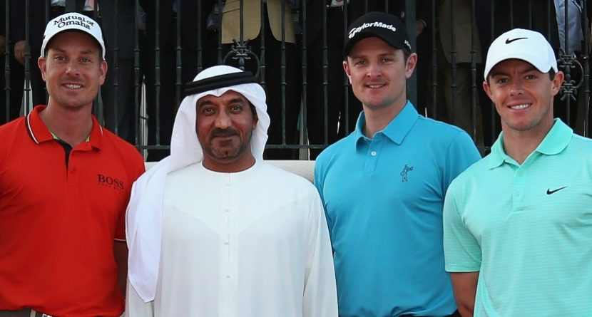 McIlroy, Rose, Stenson Try To 1-Up Each Other In Dubai