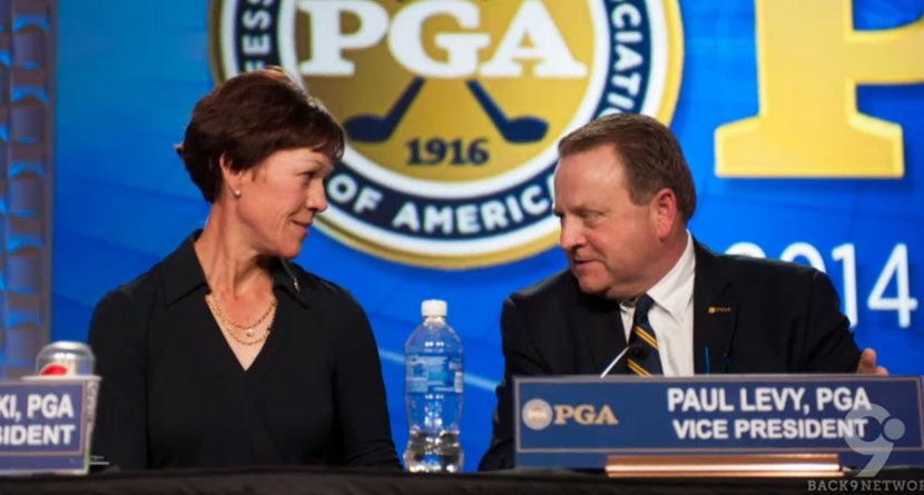 Suzy Whaley, PGA's First Female Officer, Visits Back9Network