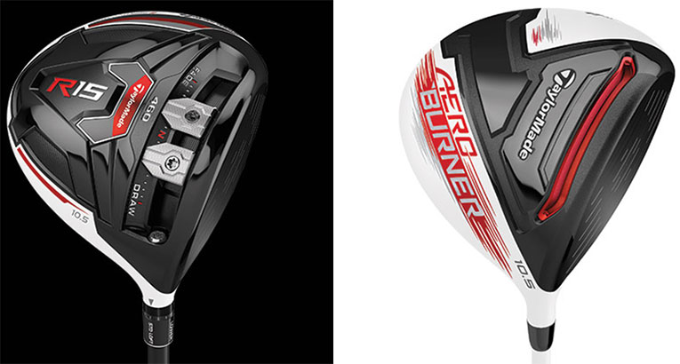 TaylorMade Launch: R15, AeroBurner Complete 2015 Product Line