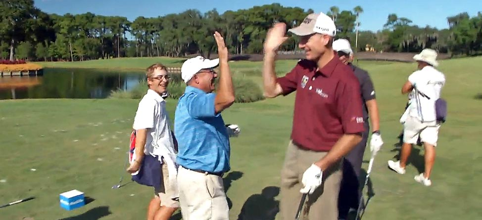 Regular Dude Makes Ace In Front Of Furyk At TPC Sawgrass